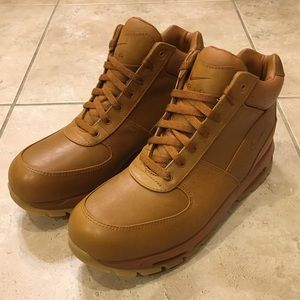 Nike Air Max Goadome Tawny Light Brown Gum Boots NWT